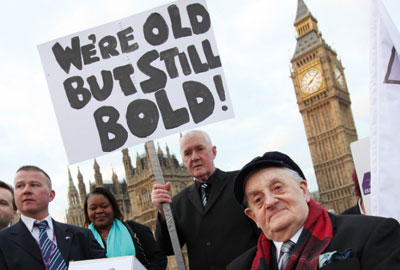 Grey Pride: Campaign asks the government to appoint a minister for older people