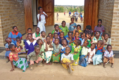 Malawi: the foundation works with the Clinton Foundation in Rwanda too