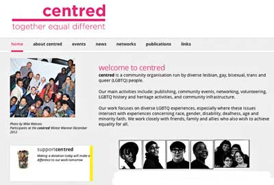 Centred's new website