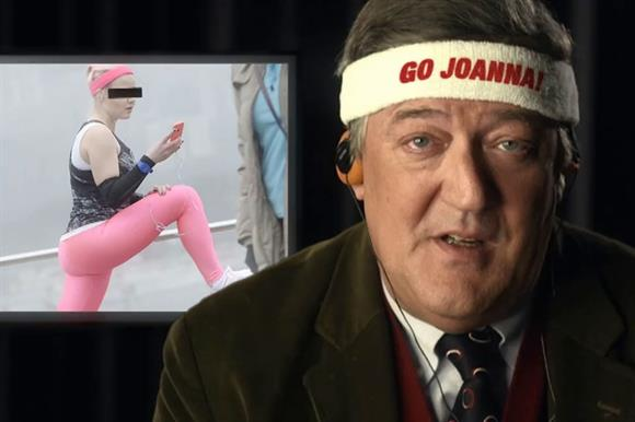 Stephen Fry has been enlisted for this campaign