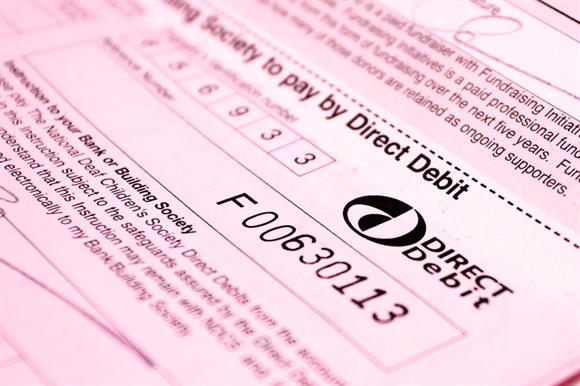 Direct debit cancellation rate up
