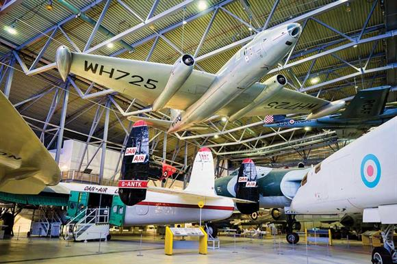 IWM's Duxford premises: sister site at Saffron Walden re-rated