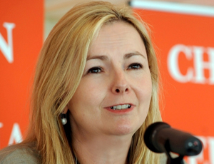 Caroline Blakely, chief executive of Children with Cancer UK