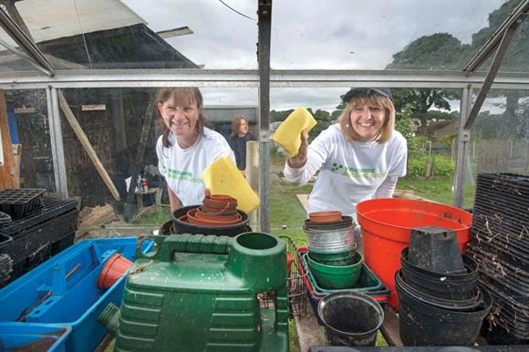 Volunteering participation by building society staff has risen significantly