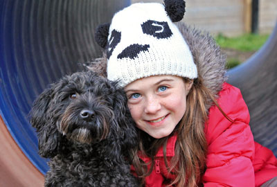 The charity has started matching hearing dogs with deaf children