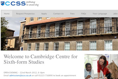 Cambridge Centre for Sixth Form Studies