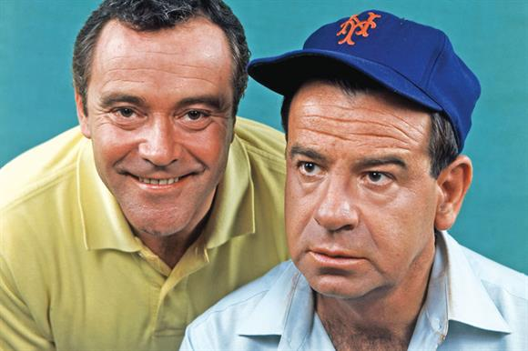 Forced together: Jack Lemmon and Walter Matthau