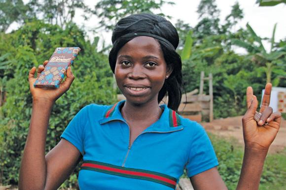Divine: invested more than £2m in cocoa farming projects