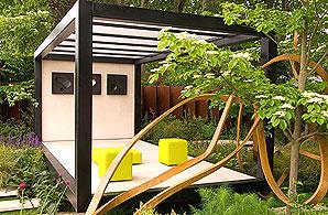 Cancer Research UK's garden