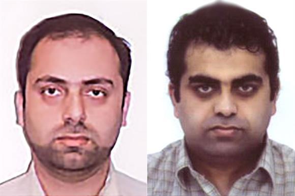 Abu Talib Ghadiri and Mohsin Raza