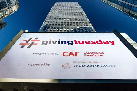 Giving Tuesday: began in the US