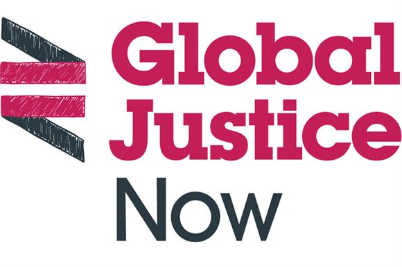 Logo for Global Justice Now
