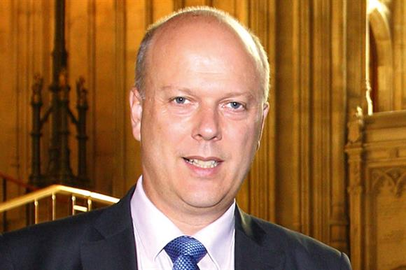 Chris Grayling, Leader of the Hous