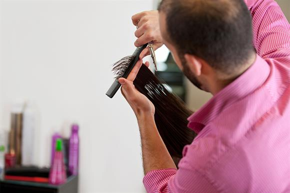 Hairdressers: more trusted than charities