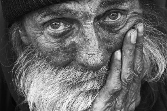 Most people think of the homeless as lone, bearded men, report says