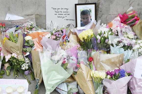 Tributes to the murdered policeman Keith Palmer