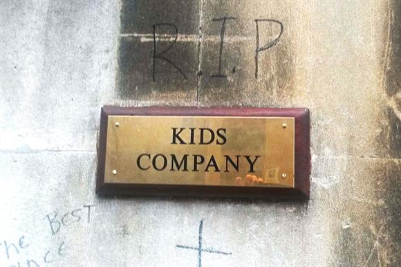 Kids Company: now defunct