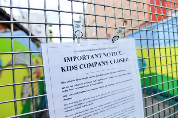 Kids Company closed suddenly