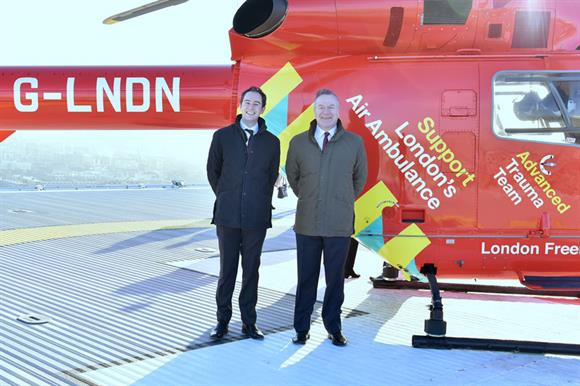 Hogan Lovells International LLP supported London's Air Ambulance
