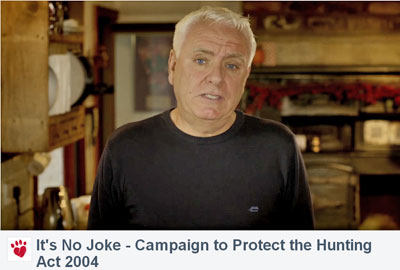 The comedian Dave Spikey in the advert