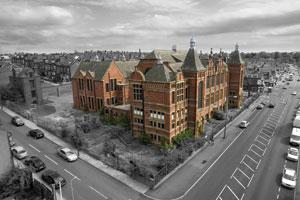 Former Harehills Middle School in Leeds