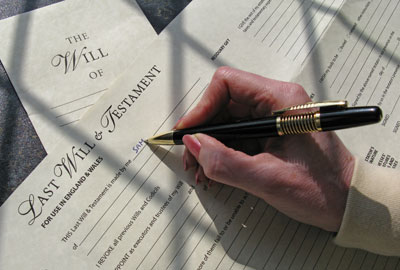 Legacies: possibly affected by inheritance tax reforms