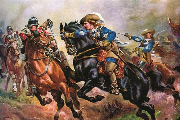 Battle of Edgehill, 1642: a presage of sector division?