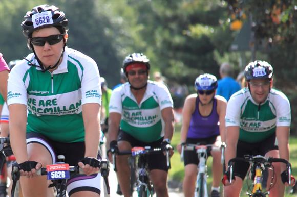 Macmillan fundraising events: income from these rose to £47.4m