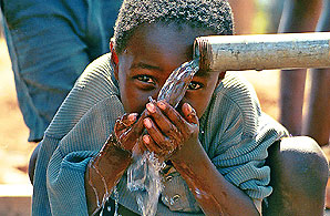 A Blue Planet Foundation-funded clean drinking water project in Malawi
