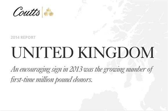 Coutts Million Pound Donors Report