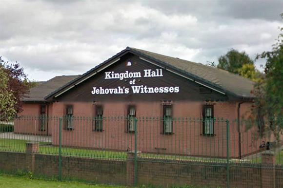 The Moston congregation's meeting hall