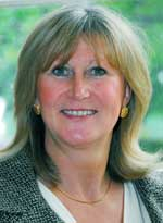 Sandie Foxall-Smith, chief executive, St Peter's Hospice