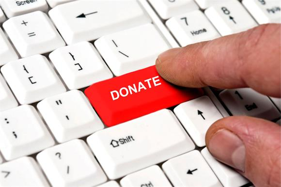 Online charitable donations