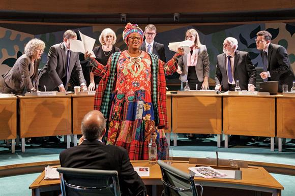 Sandra Marvin shines as Camila Batmanghelidjh, appearing before MPs in committee