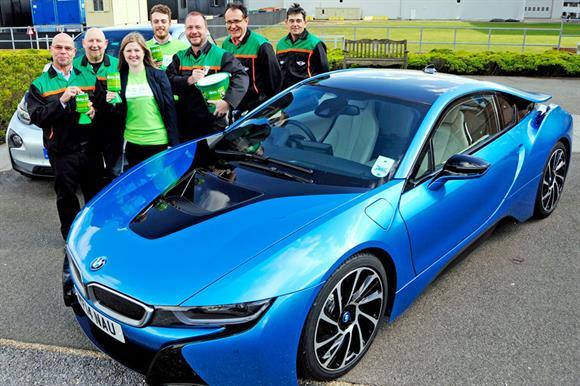 BMW Group linked up with Whizz-Kidz