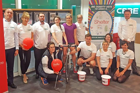 Firm's links with Shelter