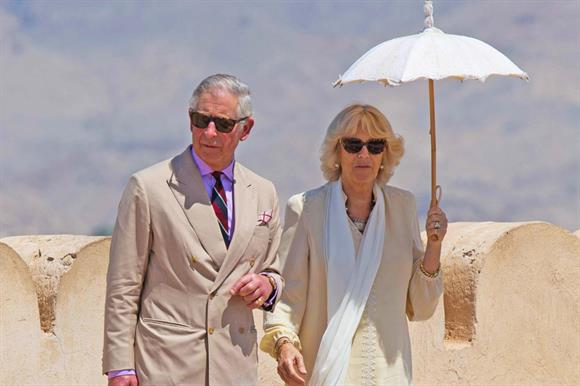 Prince Charles in Oman in 2013: Prince's Trust is now going international