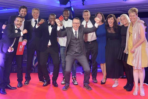 Prison Radio Association celebrates at the awards ceremony