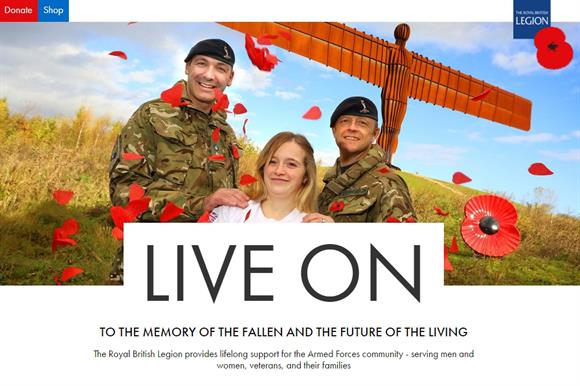 Royal British Legion website