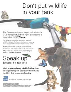 Cleared: the RSPB's ad