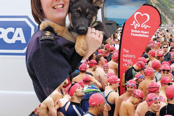 RSPCA and BHF: paid fines