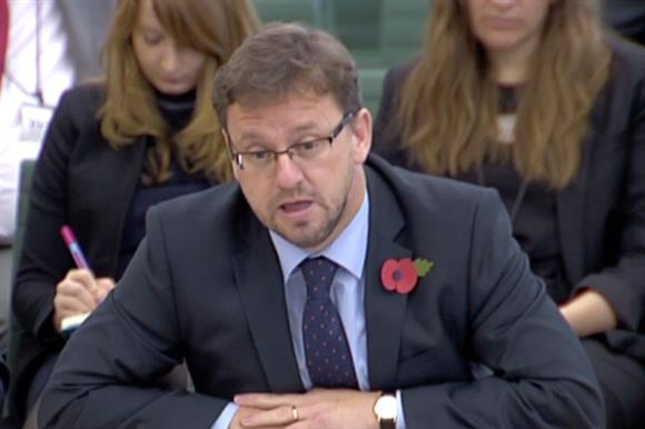 Rob Wilson at the committee today