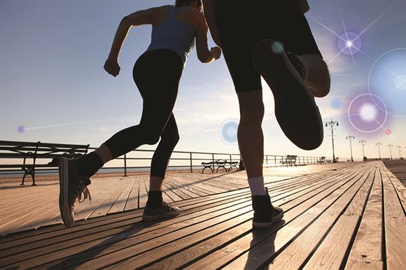 Both runners and givers get fatigue