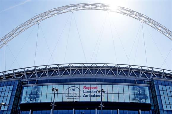 Wembley appearance for London's Air Ambulance