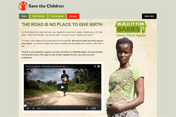 Save's Liberia appeal