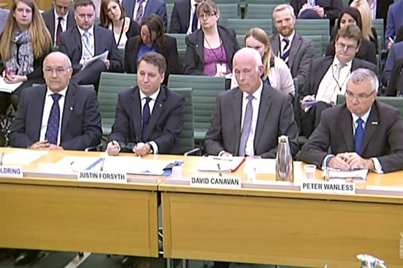 Goldring, Forsyth, Canavan and Wanless at the session
