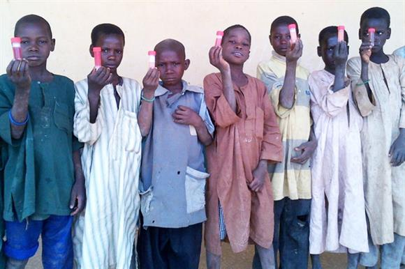 Sightsavers deworming programme in Nigeria