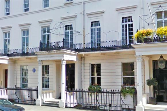 The property sold by the charity