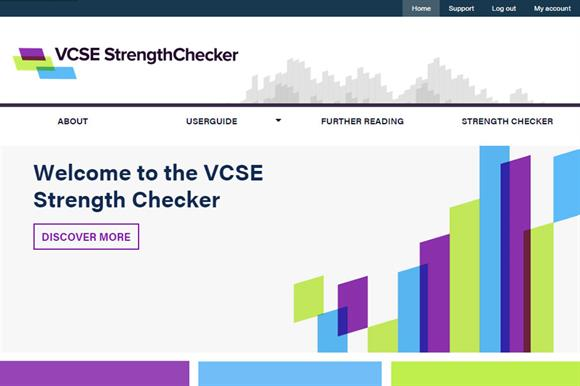 VCSE StrengthChecker tool