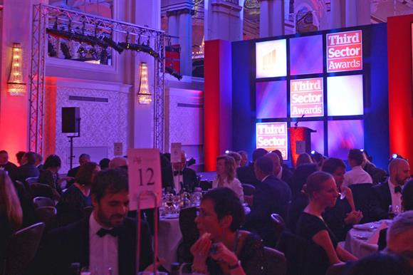 Last year's Third Sector Awards